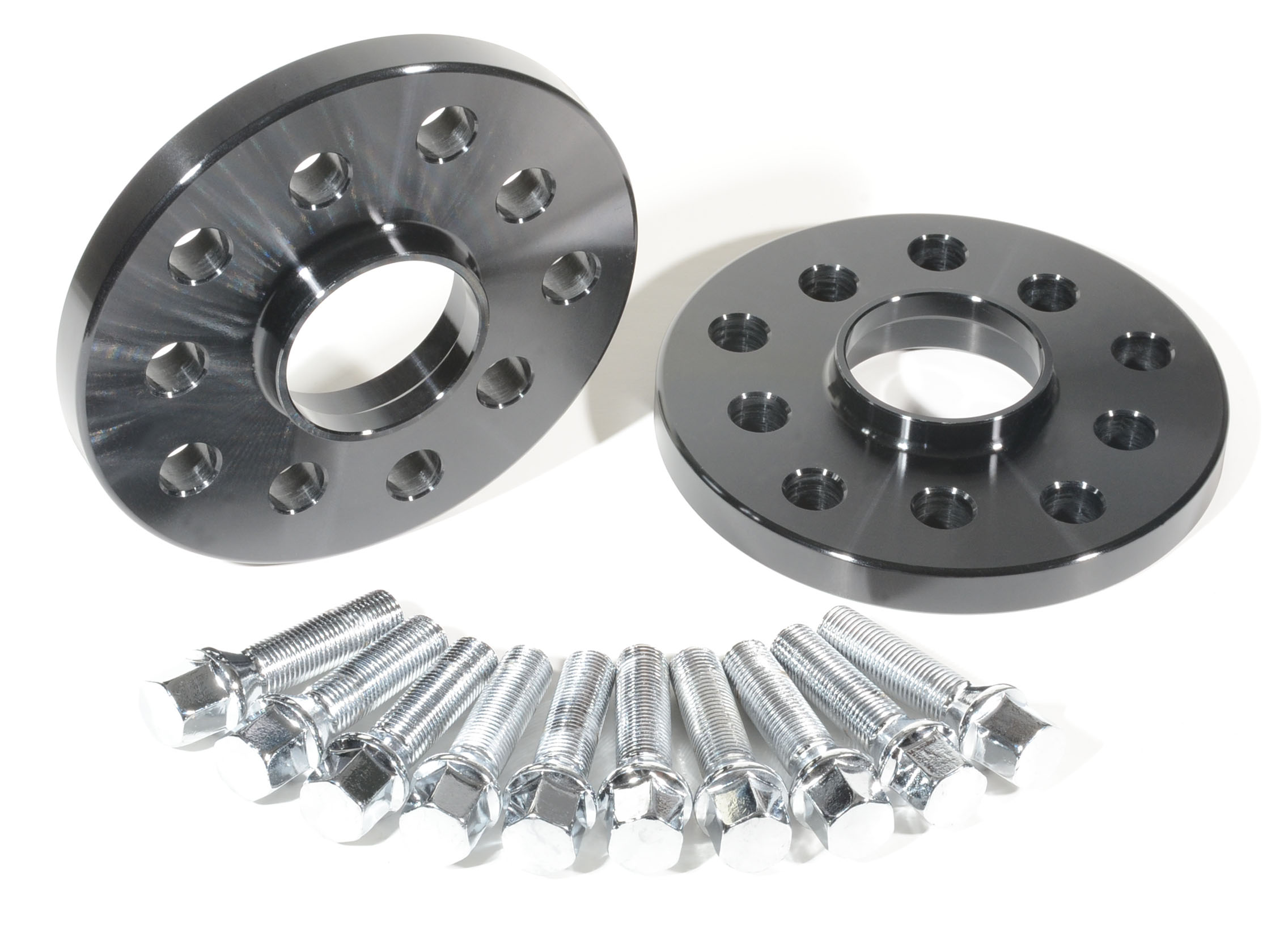 15mm Hubcentric Wheel Spacers Adapter Fit Audi With Chrome