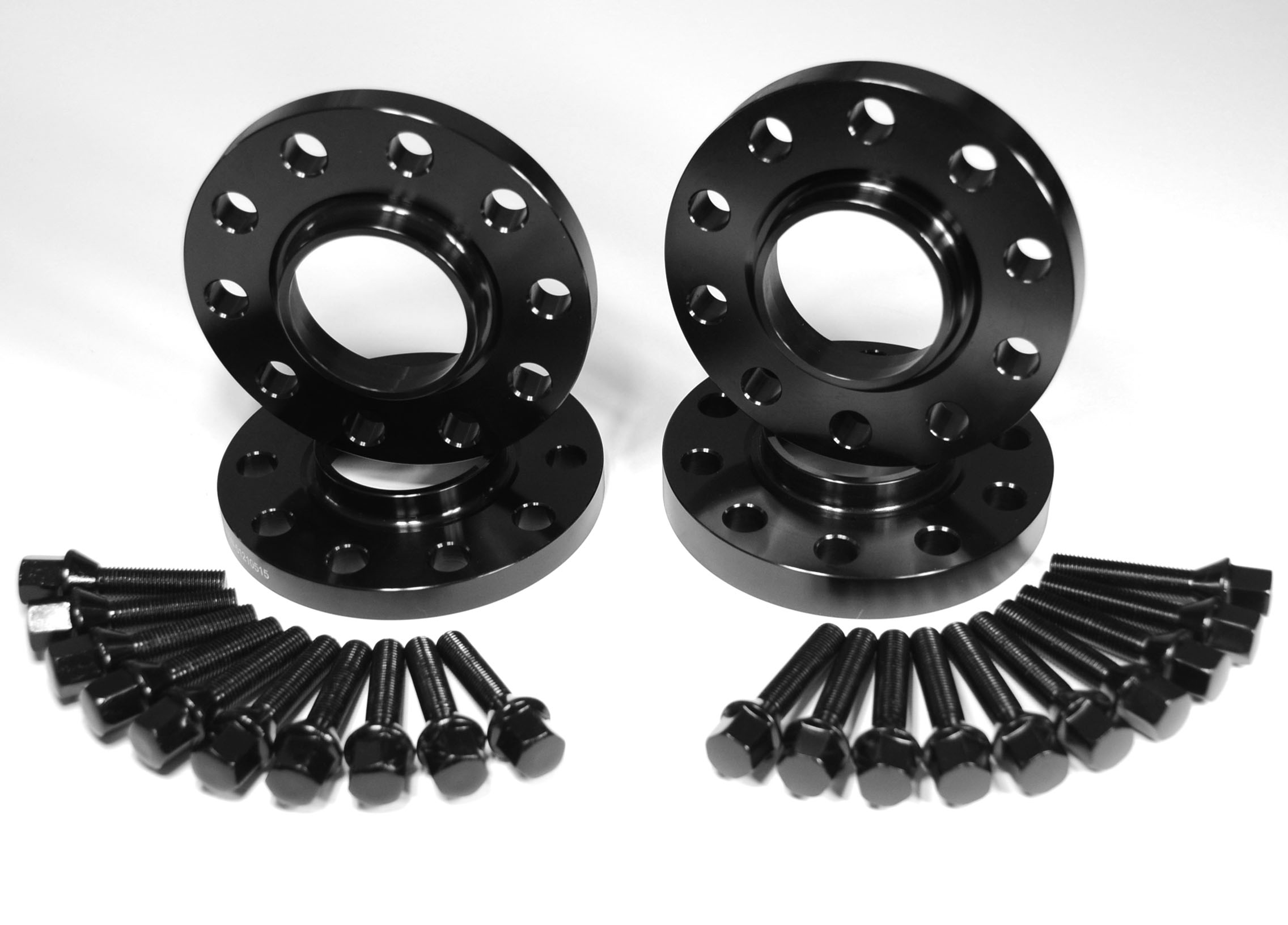 15mm Amp 20mm Hubcentric Wheel Spacers Adapter Fits Bmw With Black Cone Seat M14x1 25 Combo M V