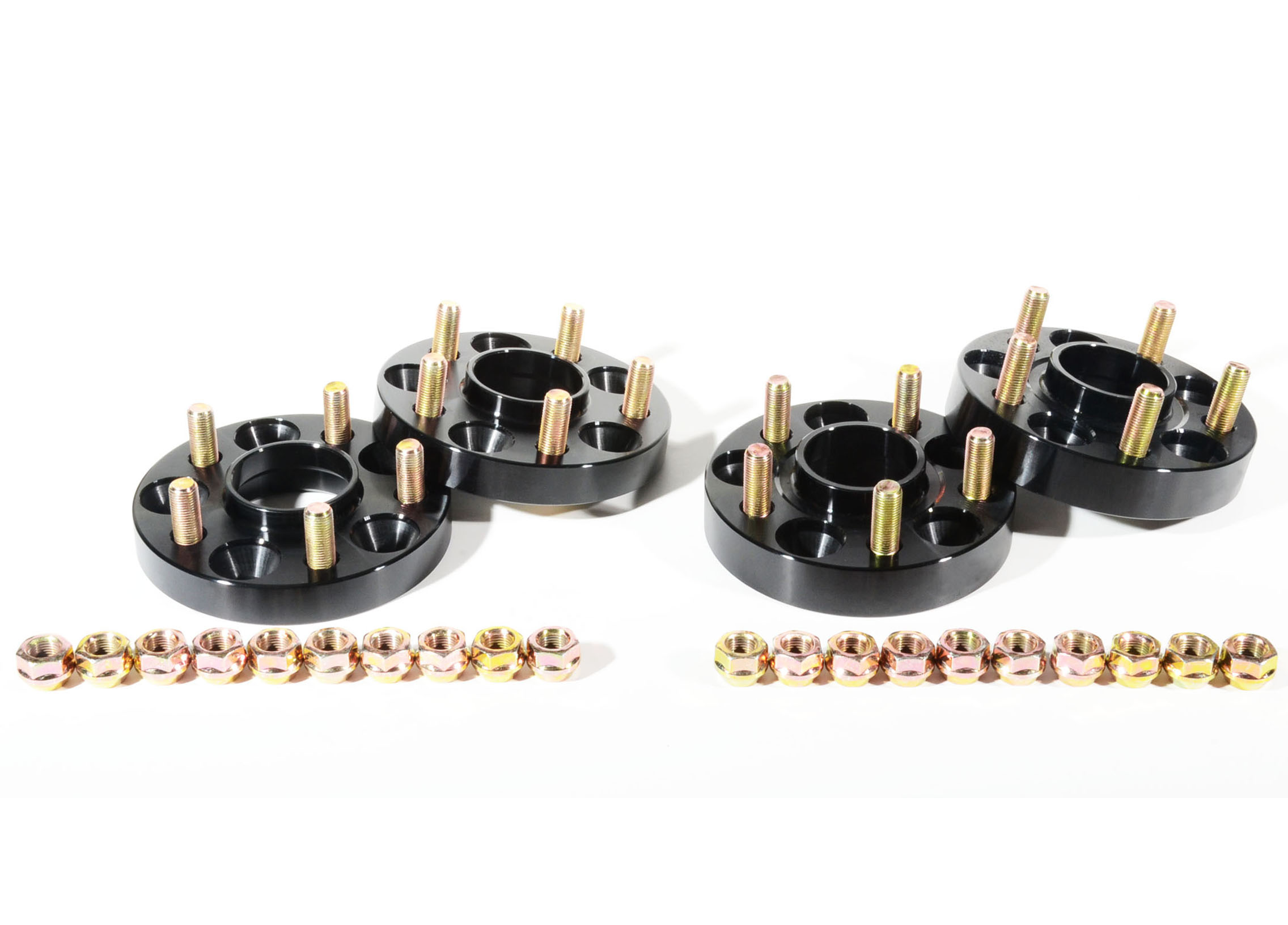 20mm Amp 25mm Combo Sets Hubcentric Wheel Spacers Adapter